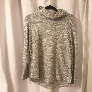 LOFT medium Gray Sweater